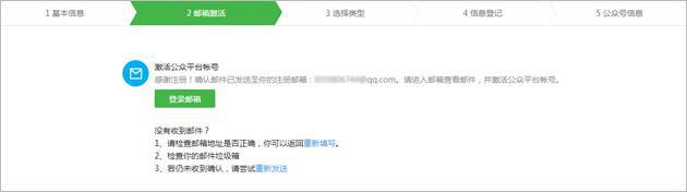 微信公众号申请流程图